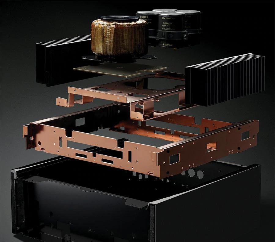 Structura rigida amplificator de putere M-5000